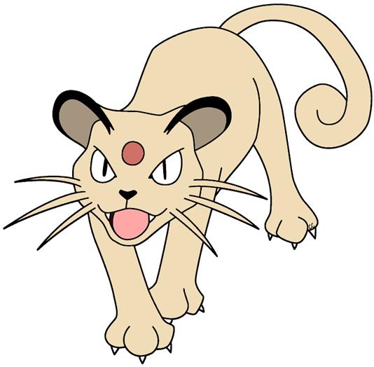 image freeuse Pokemon clipart. Clip art cartoon persian.