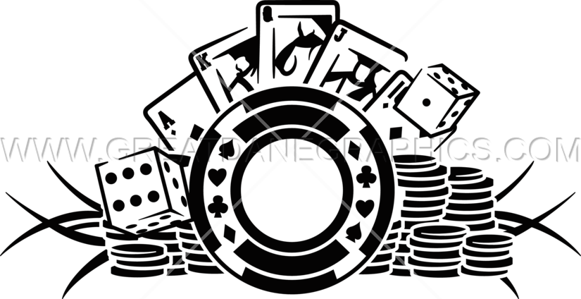 banner transparent Poker chips clipart black and white. Chip cdr michigan tournaments.