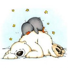 picture library stock Cliparts zone . Polar bear and penguin clipart