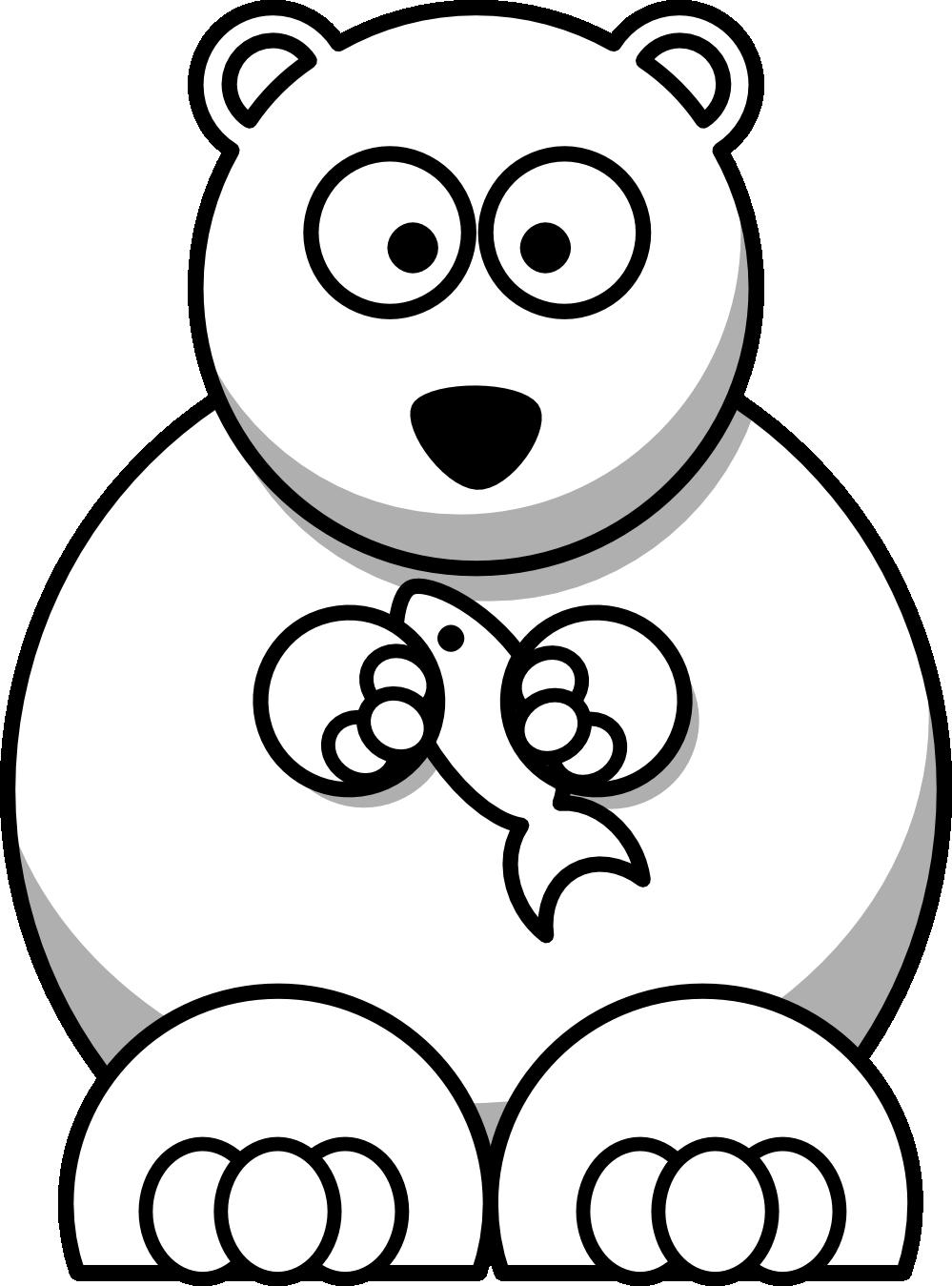 banner transparent download Clip art panda free. Polar bear black and white clipart