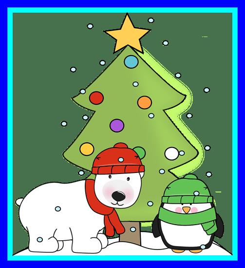 clipart free library Inspiring christmas clip art. Polar bear clipart free