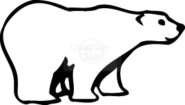graphic black and white Clip art download . Polar bear clipart free