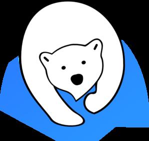 free stock Bear clip art at. Polar clipart.