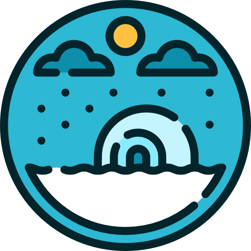 banner free download Nature north pole icon. Polar clipart glacier