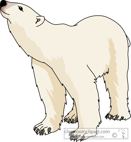 png download Art kid clipartix . Sitting polar bear clipart