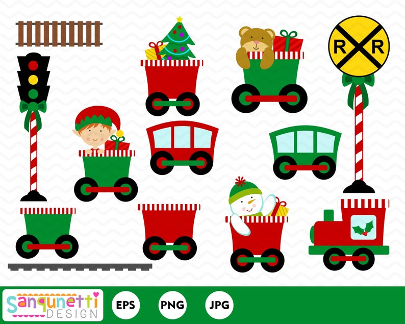 vector black and white stock Polar express clipart. Train christmas winter holiday
