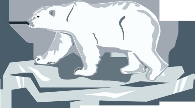 clipart transparent stock Day . Standing polar bear clipart