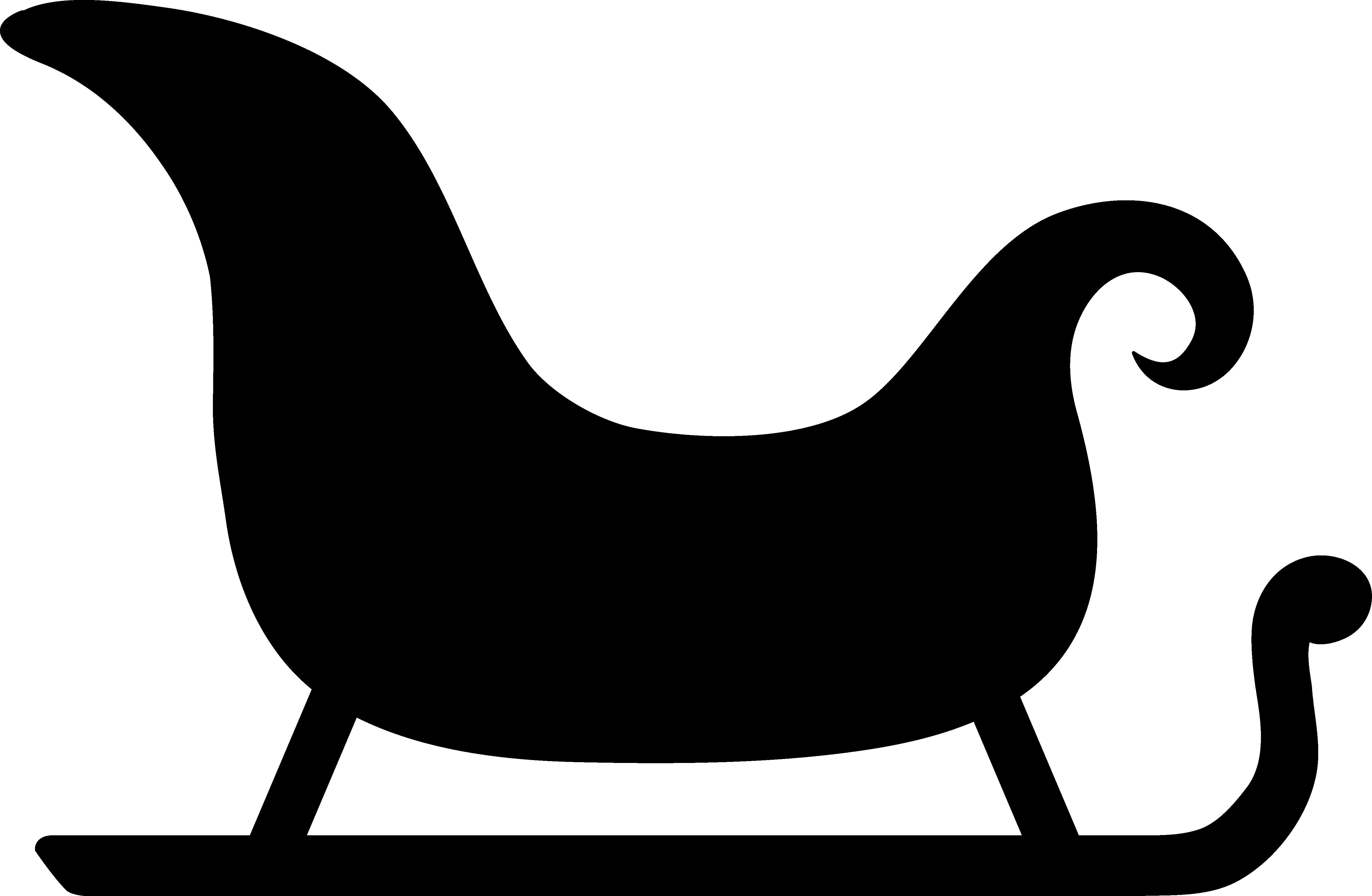 clip Sleigh Clipart