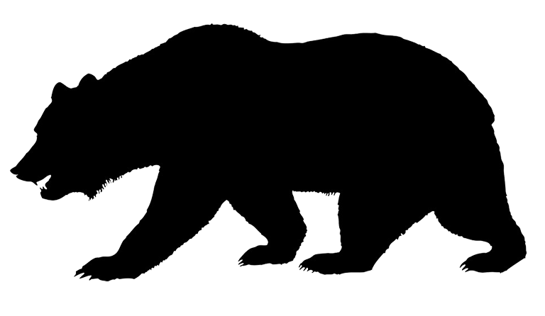 stock Black Bear Silhouette at GetDrawings