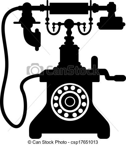 vector black and white download Drawing free download best. Pole clipart vintage telephone