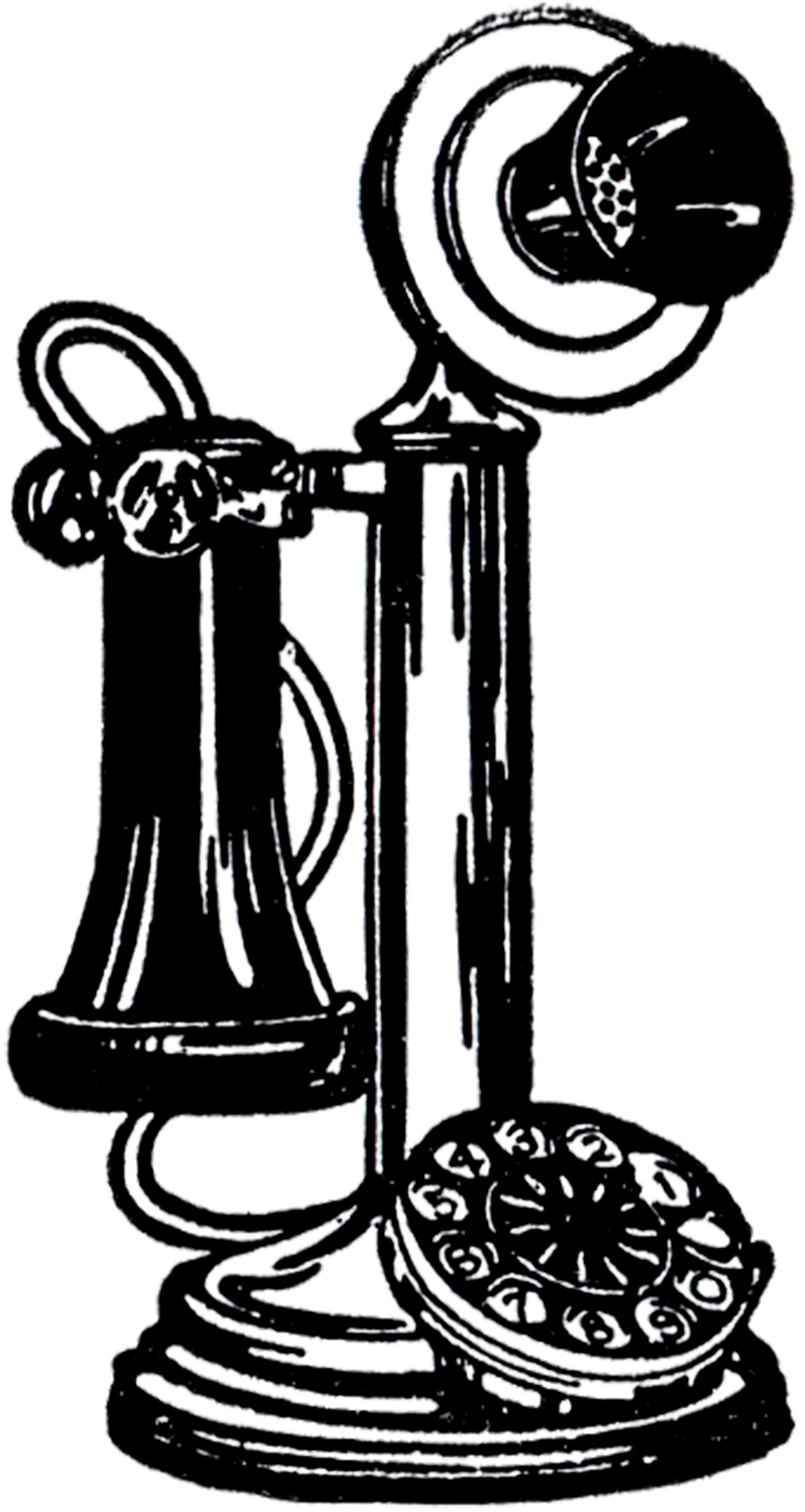 png Old free download best. Pole clipart vintage telephone