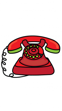 clip library Pole clipart vintage telephone. Old drawing at getdrawings