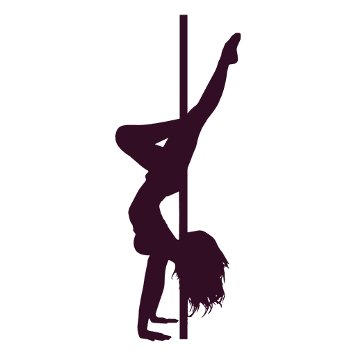 jpg library stock Pole Dancer Silhouette at GetDrawings