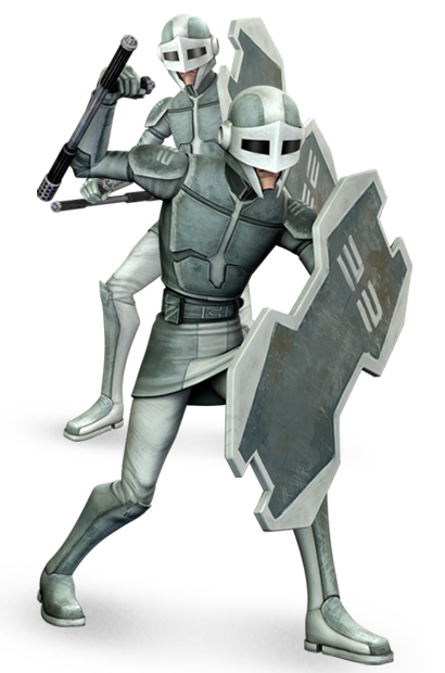vector freeuse library Mandalorian Guard