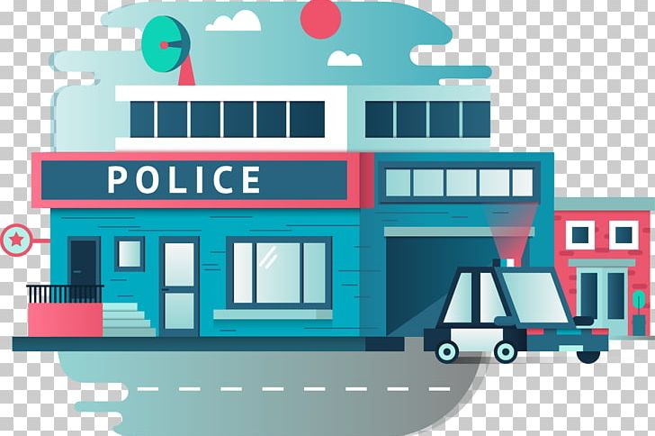 clipart stock Officer png balloon . Police station building clipart.