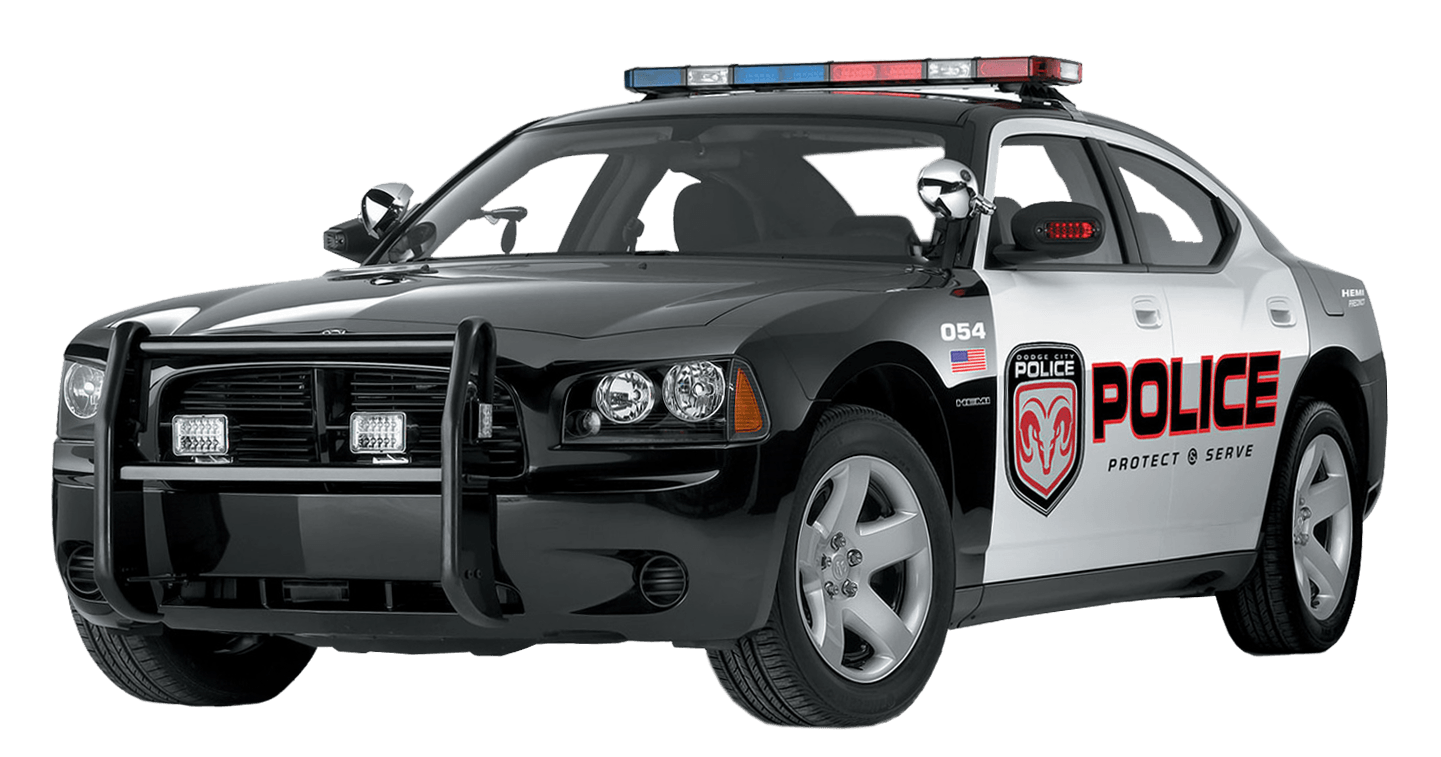 royalty free library Us Police Car transparent PNG