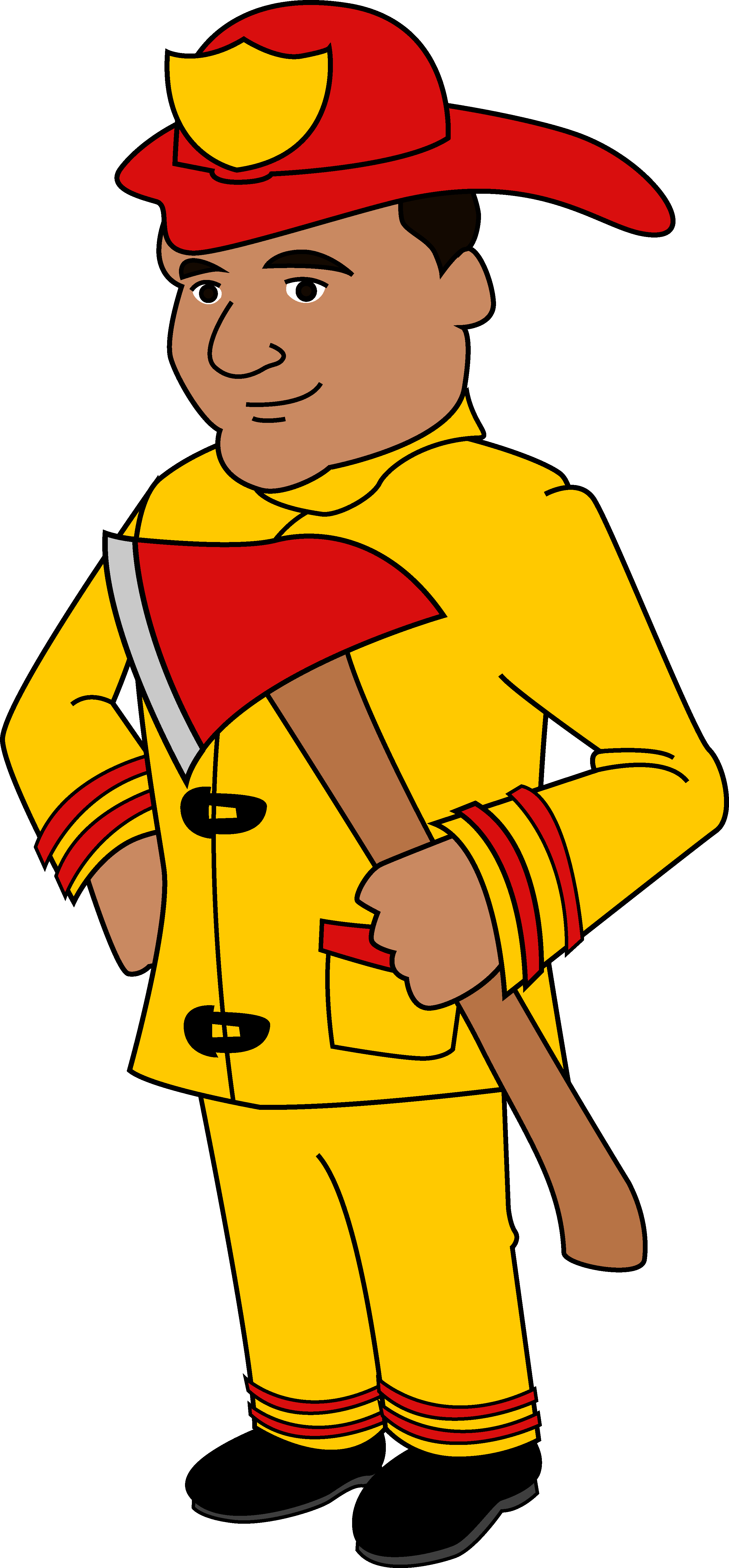 clipart free Fireman Cliparts