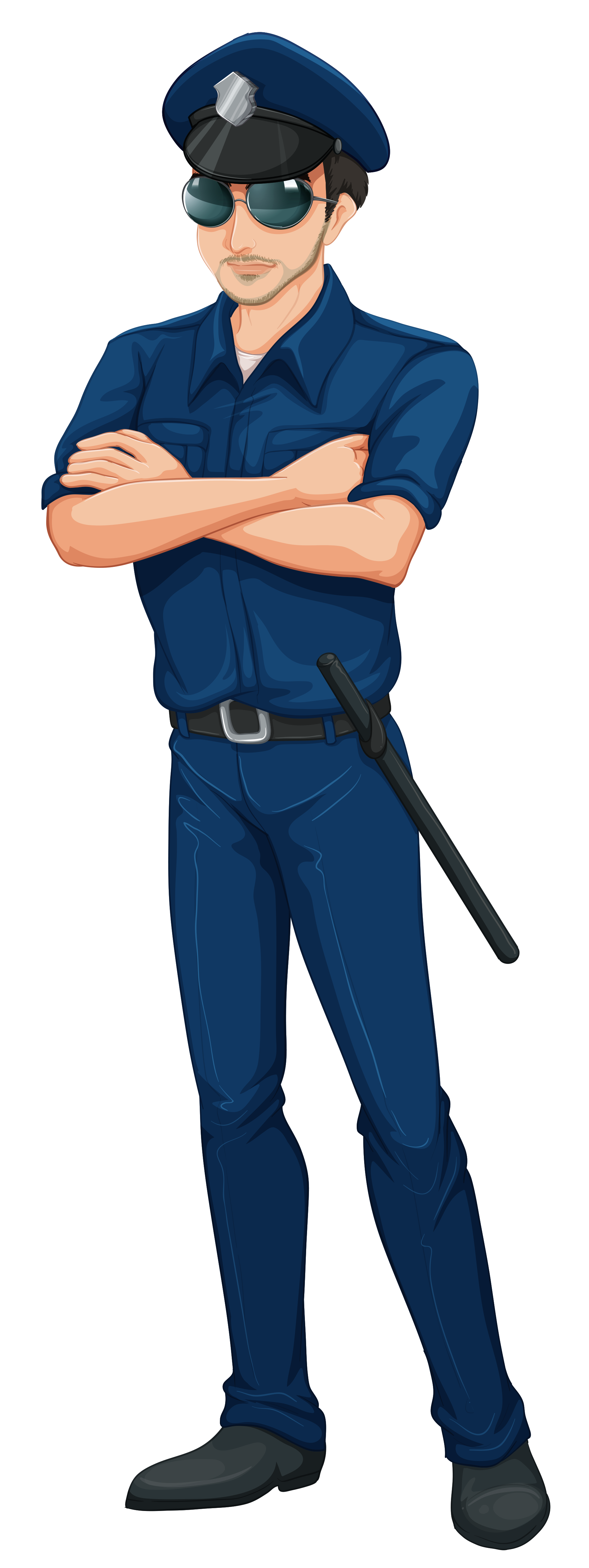 clip art royalty free stock Clipart cop. Police hd png transparent