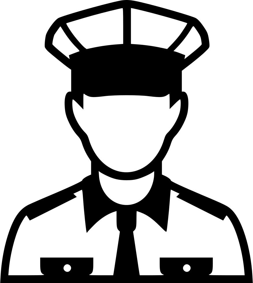 banner transparent download Policeman Svg Png Icon Free Download