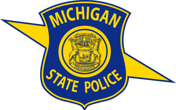vector stock Saline Grad Baublit Reports to Michigan State Trooper Camp