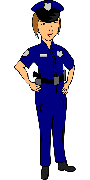 image library download Clipart woman police man