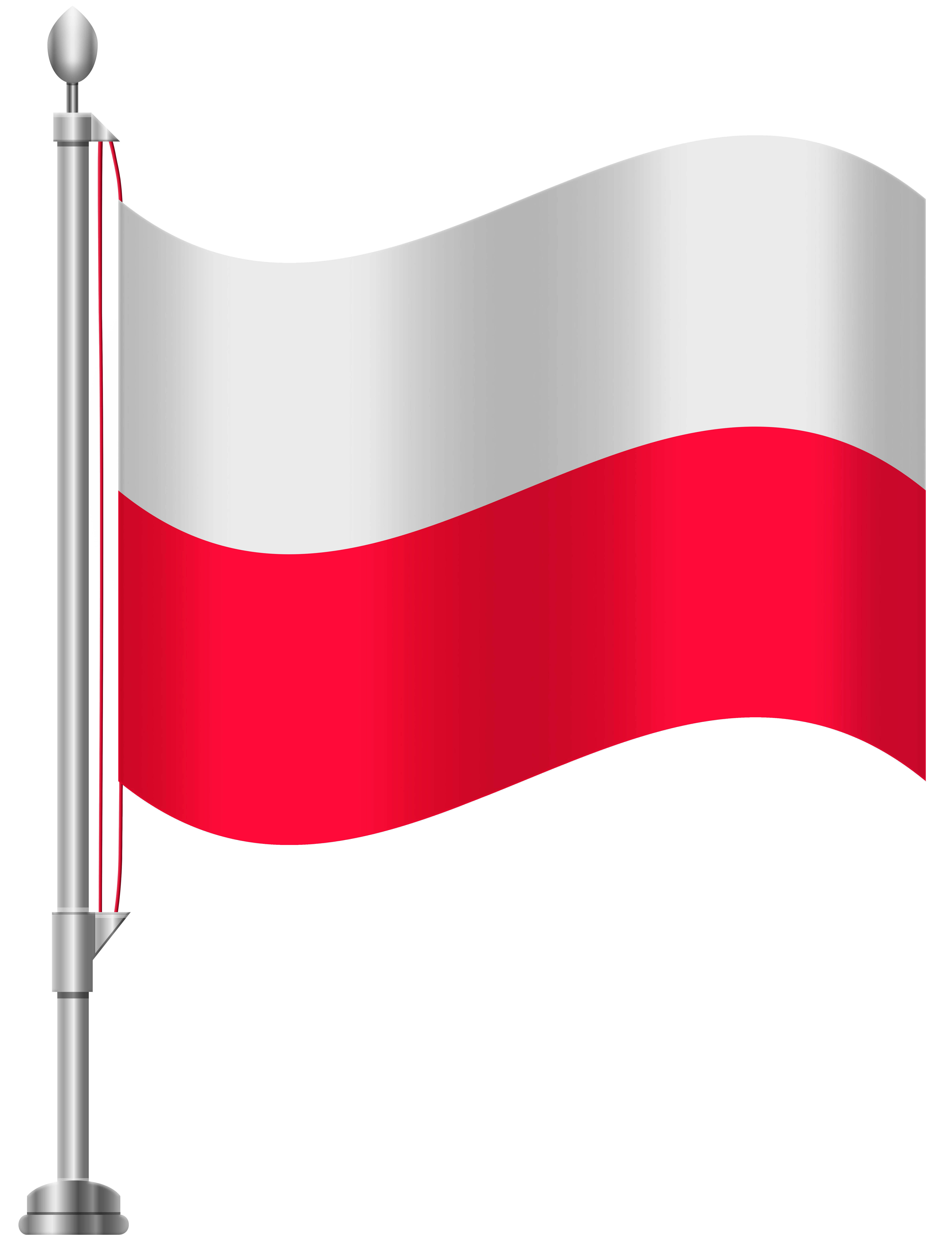 clip art Poland flag png clip. Polish clipart.
