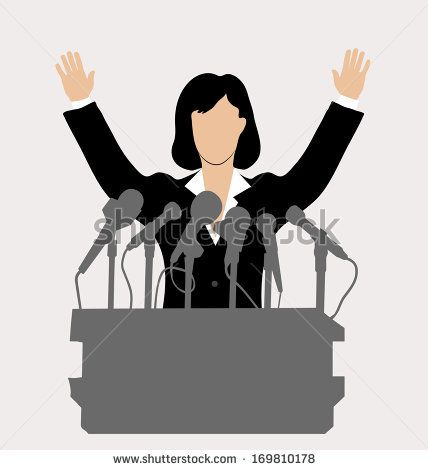 vector royalty free Image result for women. Politics clipart.