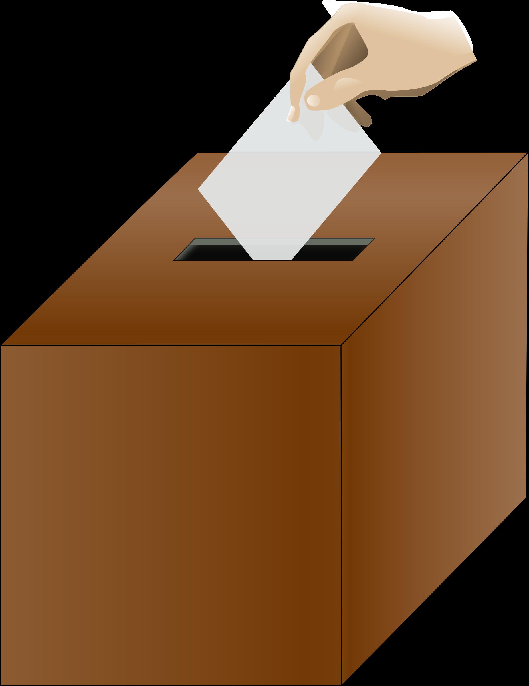 jpg library library Debate clipart memorized speech. Politics ballot box free