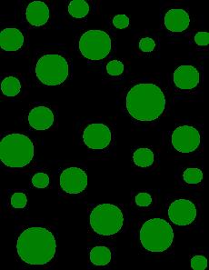 svg free 7 clipart dot. Green polka