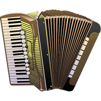 clip art transparent download Accordion Clipart german accordion