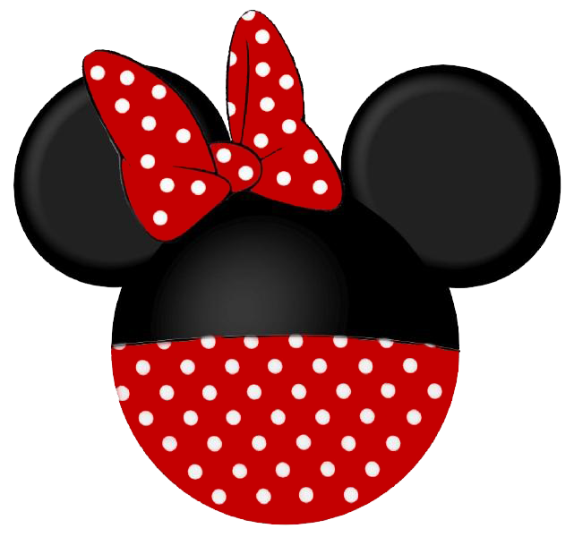 banner library Minnie mouse clip art. Disney clipart black and white