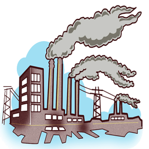 freeuse Pollution clipart. Save the world be