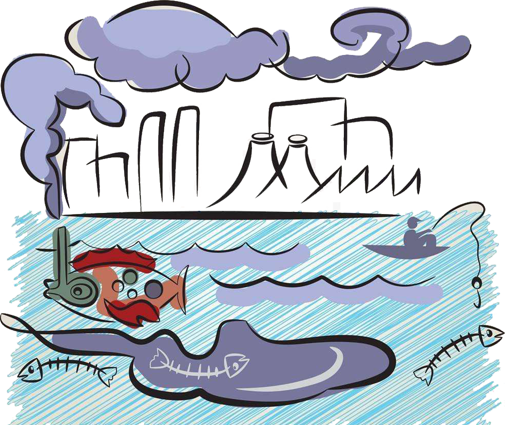 jpg free stock Pollution clipart. Water clip art air