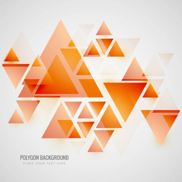 clip download Polygon vector. Modern background abstract .