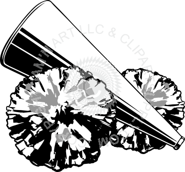 clip royalty free download Cheerleader Megaphone Drawing at GetDrawings
