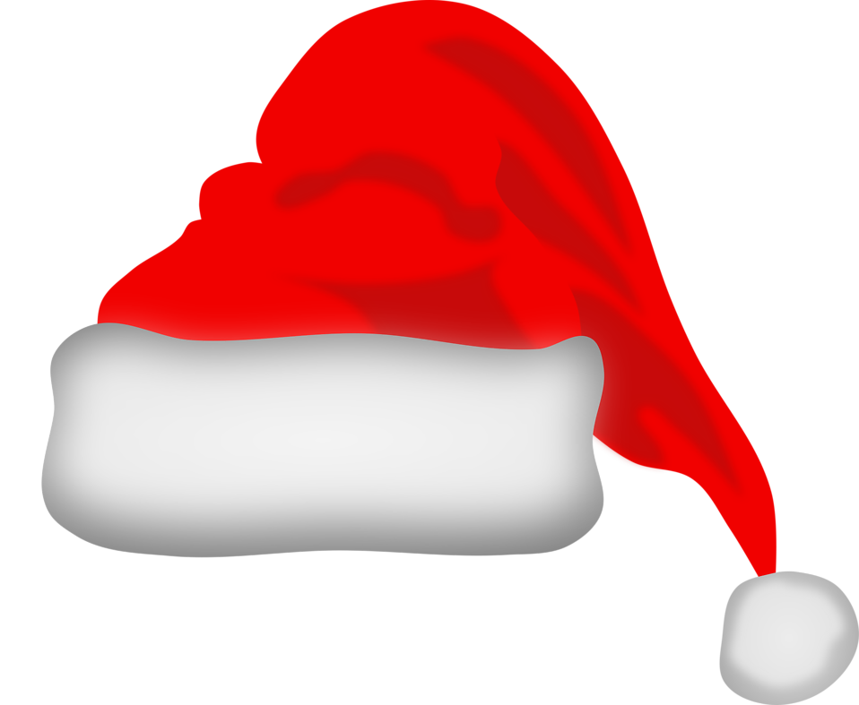 jpg library download CHRISTMAS SANTA HAT CLIP ART