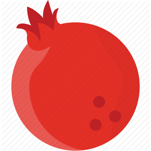 svg freeuse library Pomegranate vector fruit. Thanksgiving by vectors market