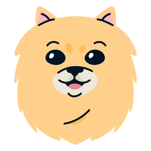 image stock Pomeranian illustration