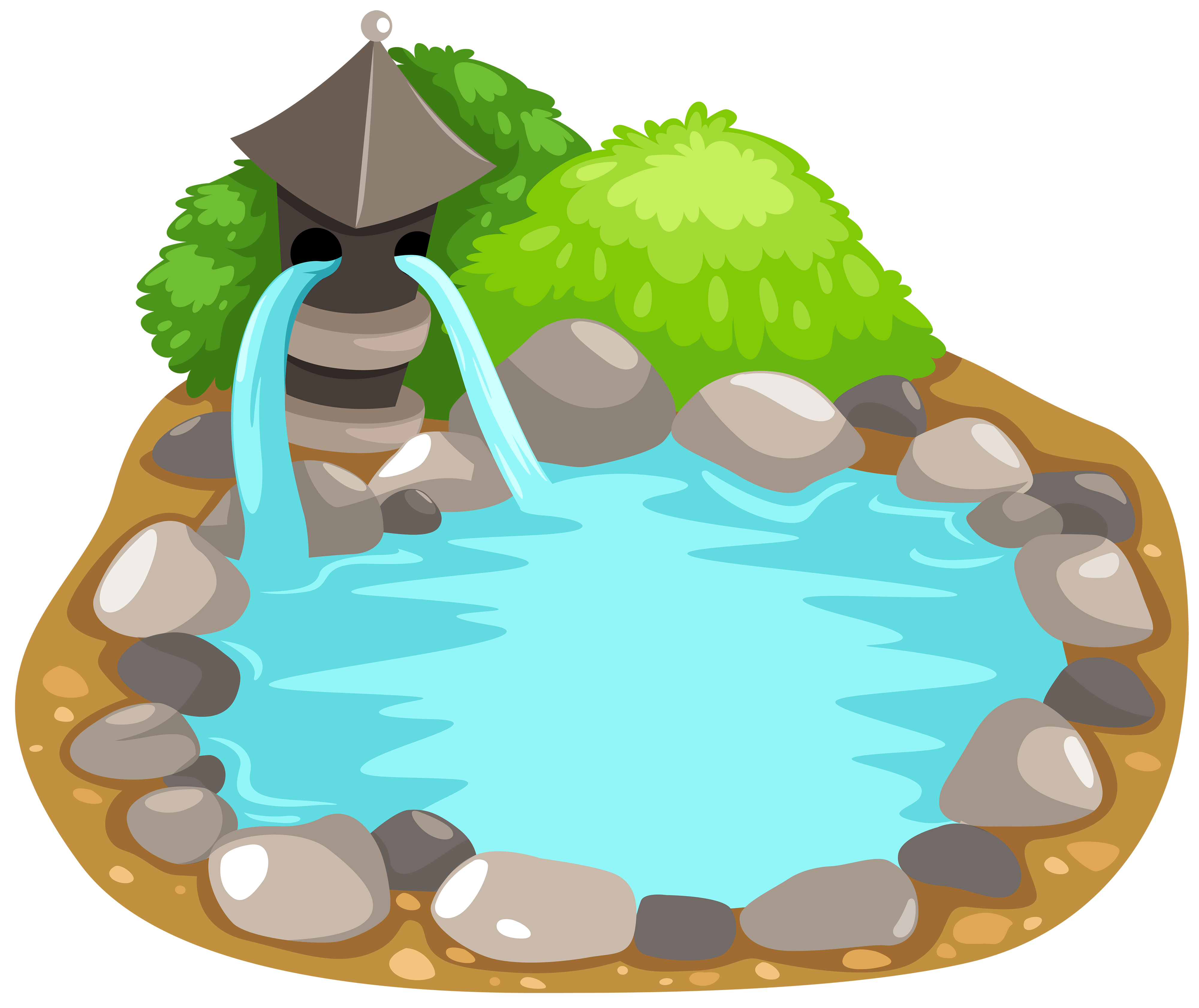 jpg freeuse Pond PNG Clipart
