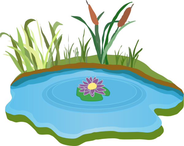 vector free Pond Clip Art