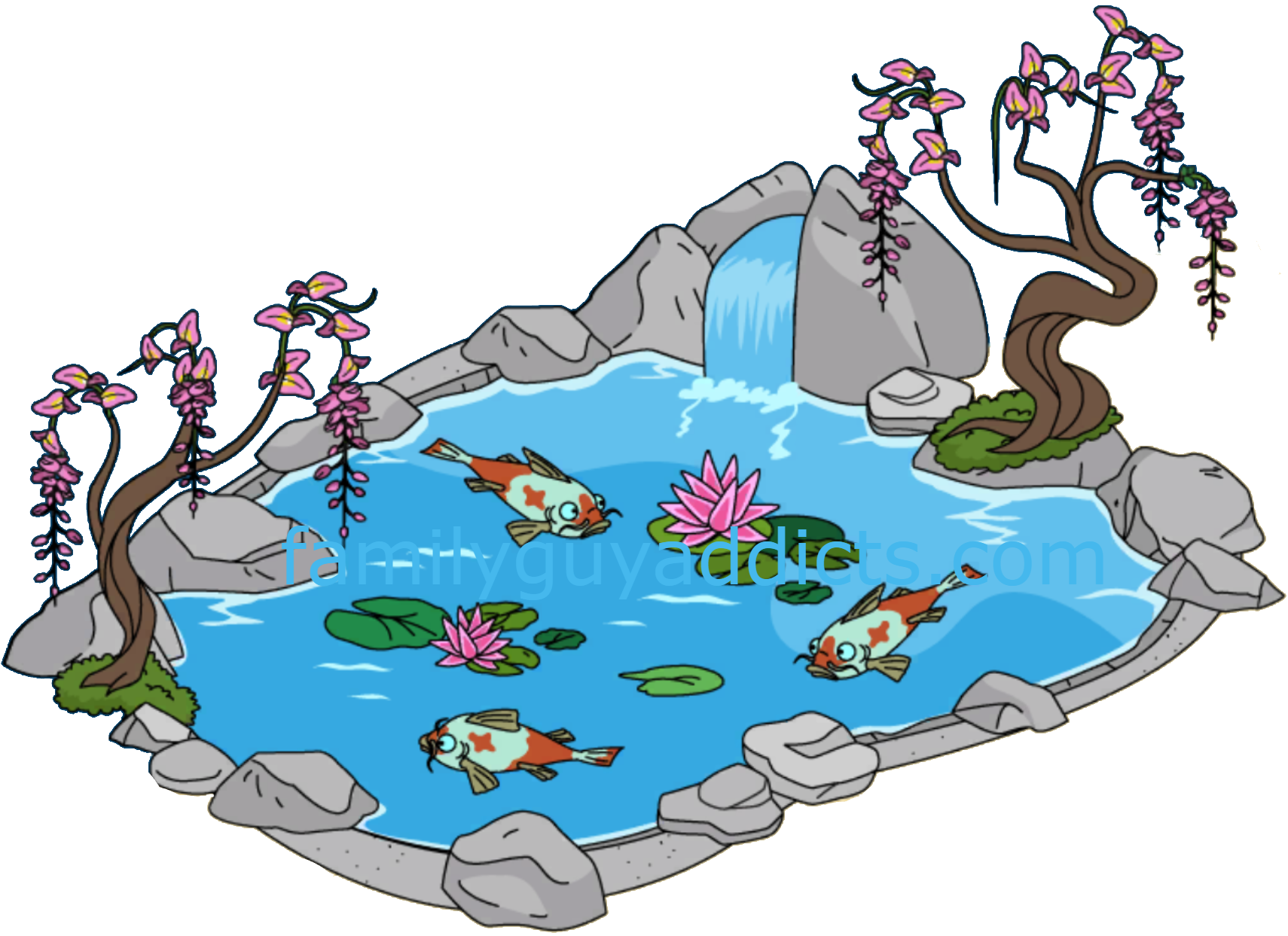 svg free Bridge clipart empty pond. Koi free on dumielauxepices
