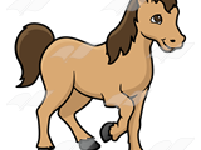 royalty free Pretty horse free on. Brown clipart pony