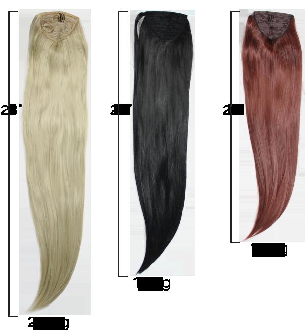 banner free clip hair ponytail #110711833