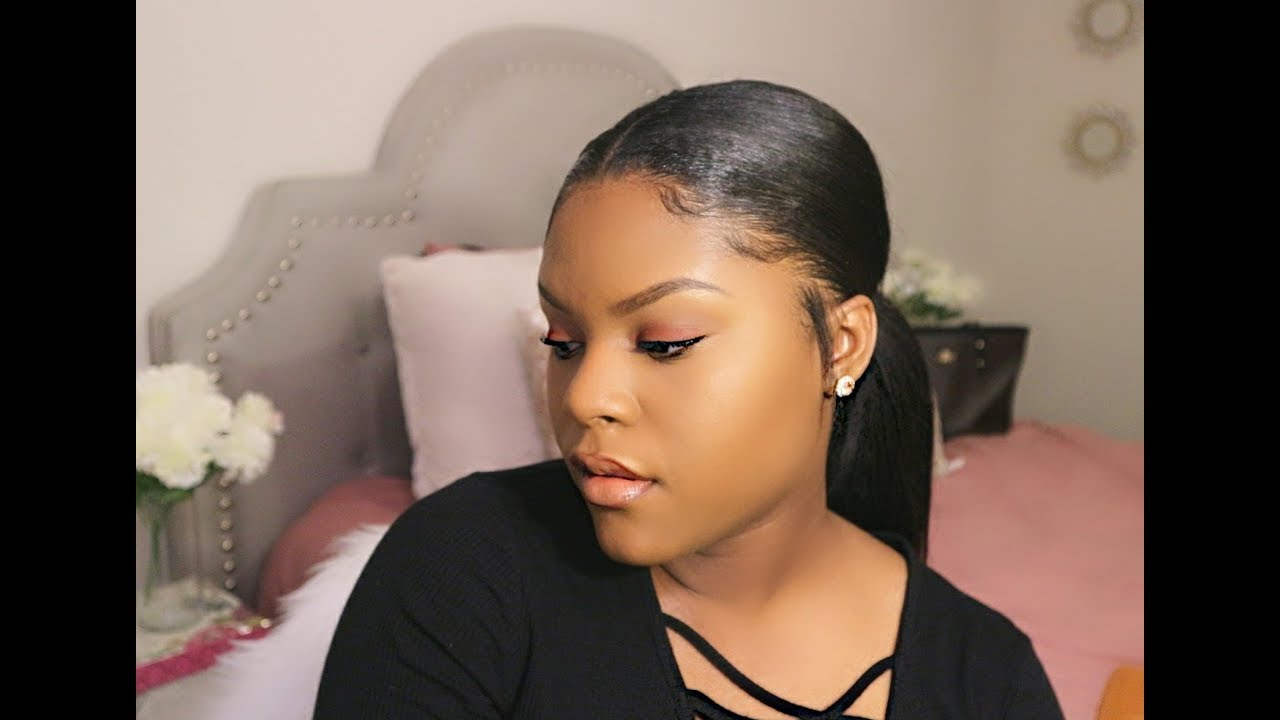 banner free Ponytail clip sleek. Easy with ins