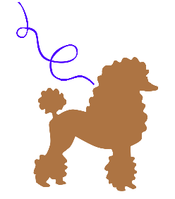 clip royalty free library Poodle clipart. Standard breeder stud service.