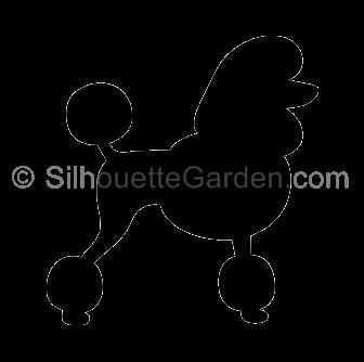jpg Poodle silhouette clip art