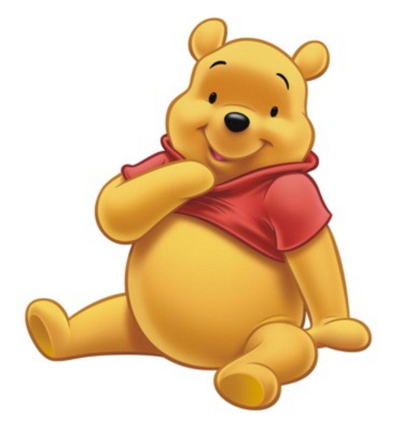 image black and white download Free cliparts download clip. Pooh bear clipart