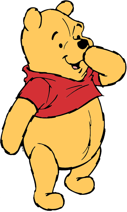 graphic free library Pooh bear clipart. Winnie the clip art