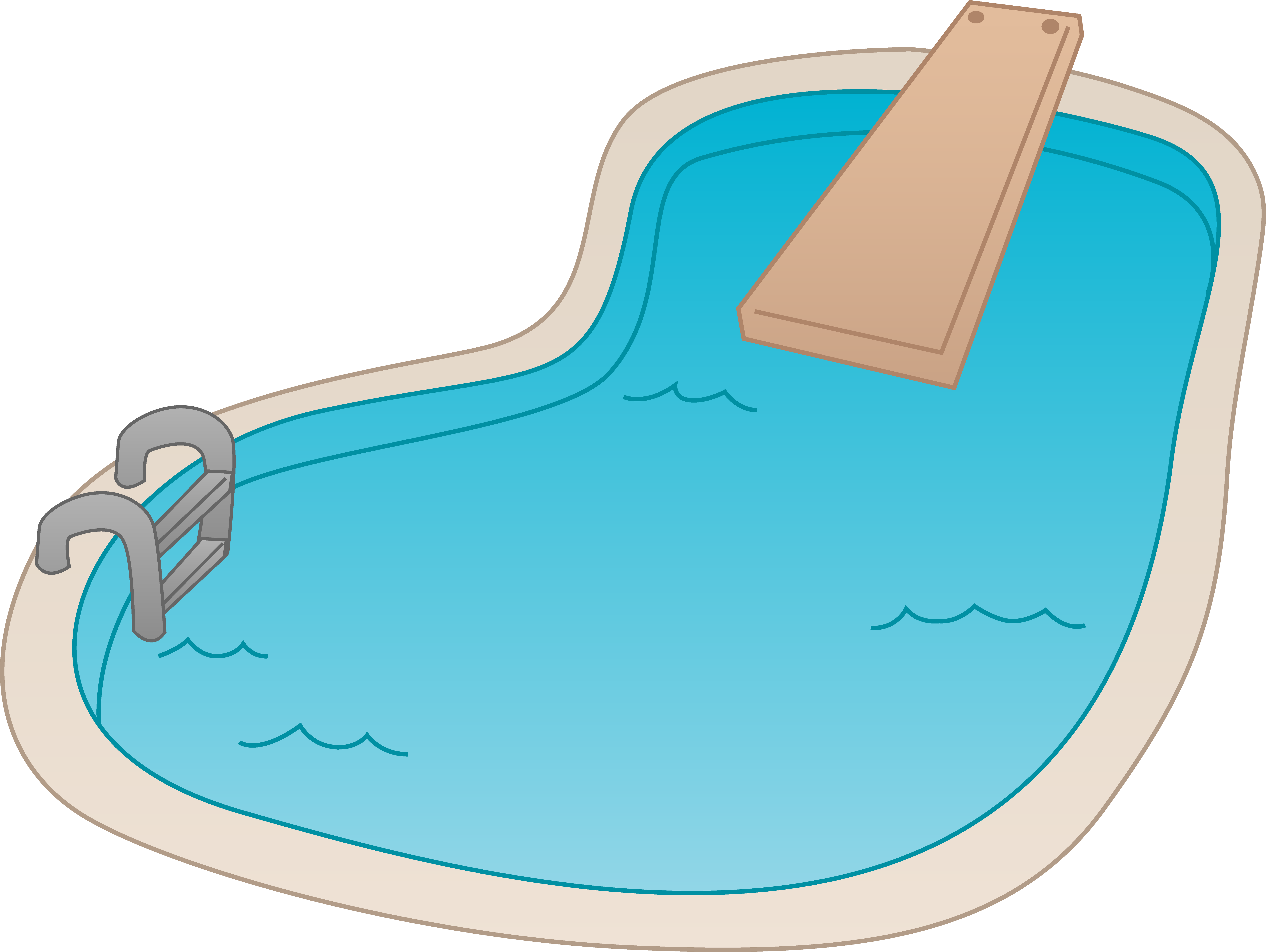 graphic transparent vector pool #88371489