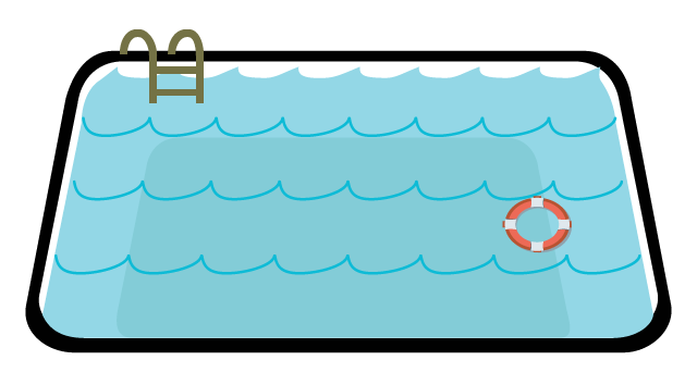 svg Pool clipart.  collection of swimming.
